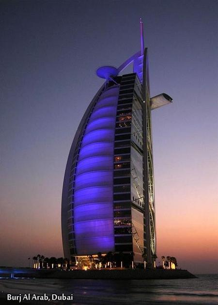 Burji Al Arab, Dubai moi